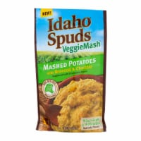 Idaho Spuds VeggieMash Mashed Potatoes with Broccoli & Cheddar