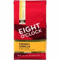 Eight O'Clock French Vanilla Medium Roast Ground Coffee