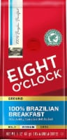 Eight O'Clock 100% Brazilian Breakfast Coffee Medium Ground Coffee