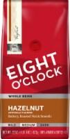 Eight O'Clock Hazelnut Whole Bean Coffee Value Size
