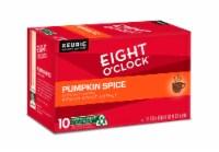 Eight O'Clock Pumpkin Spice Medium Roast Coffee K-Cup Pods - 10 ct