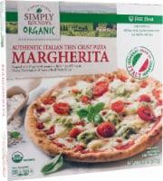 Simply Roundy's Organic Authentic Italian Thin Crust Margherita Pizza
