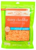Roundy's 2% Milk Sharp Cheddar Shredded Cheese