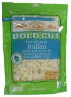 Roundy's Bold Cut Two Cheese Italian Shredded Cheese - 8 oz