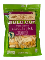 Roundy's® Bold Cut Two Cheese Cheddar Jack Shredded Cheese - 8 oz