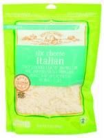 Roundy's Six Cheese Italian Blend - 8 oz