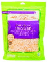 Roundy's Four Cheese Mexican Blend - 8 oz