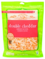 Roundy's Double Cheddar Shredded Cheese