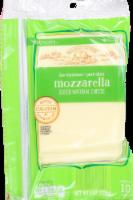Roundy's Natural Sliced Mozzarella Cheese - 8 oz