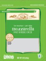 Roundy's Low-Moisture Part-Skim Mozzarella Shredded Cheese - 8 oz