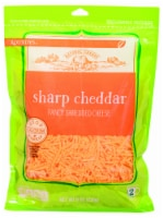 Roundy's Sharp Cheddar Shredded Cheese - 8 oz