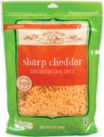 Roundy's Shredded Sharp Cheddar Cheese - 8 oz