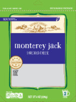 Roundy's Monterey Jack Shredded Cheese - 8 oz