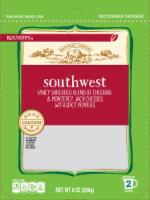 Roundy's Southwest Shredded Cheese Blend - 8 oz