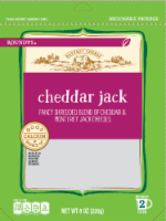 Roundy's Cheddar Jack Shredded Cheese Blend