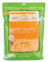 Roundy's Mild Cheddar Shredded Cheese - 8 oz