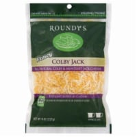 Roundy's Shredded Fancy Colby Jack Cheese - 8 oz