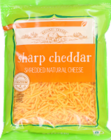 Roundy's Shredded Sharp Cheddar Cheese