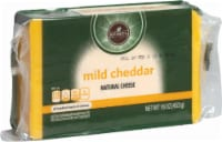Roundy's Chunk Miled Cheddar Cheese - 16 oz