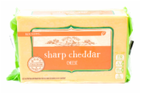 Roundy's Chunk Sharp Cheddar Cheese - 24 oz
