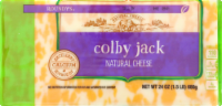 Roundy's Chunk Colby Jack Cheese - 24 oz