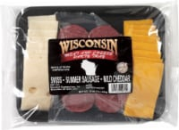 Roundy's® Wisconsin Cheese & Summer Sausage Party Tray