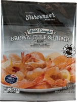 Roundy's® Fisherman's Reserve Wild Caught Brown Gulf Shrimp - 1 lb