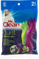 Mr. Clean® Duet Small Premium Latex Gloves - 2 pk