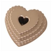 Nordic Ware Tiered Heart Bundt Pan - 1 Piece