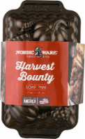 Nordic Ware Pumpkin Harvest Bounty Loaf Pan - Bronze