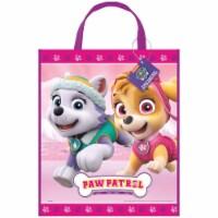 Paw Patrol Girl Plastic Tote Bag - 1