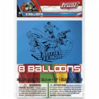Justice League Latex Balloons [8 per Pack]
