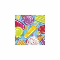 BuySeasons 268309 Ice Cream Lunch Napkins - 16 Count