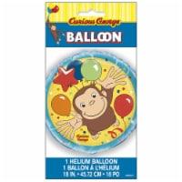 Curious George 18 Inch Foil Balloon