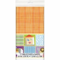 Unique Industries 641844 54 x 84 in. Circus Animal Tablecover - 1