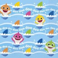 Baby Shark Luncheon Napkins [16 per Pack] - 1