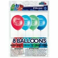 PJ Masks Birthday Party Latex Balloons 8ct