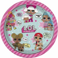 LOL Surprise! 9 Inch Dinner Plates [8 Per Package]