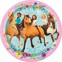 Spirit Riding Free 7 Inch Plates [8 Per Package]