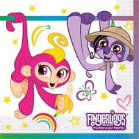 Unique Industries 307653 Fingerlings Lunch Napkin, Pack of 16 - 1