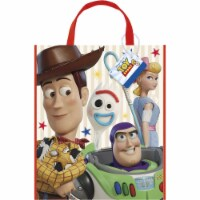 Disney Toy Story 4 Movie Plastic Tote Bag for Party Favor - 13 x 11 Inches - 1 Unit - 1