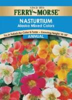 Ferry-Morse Alaska Mixed Colors Nasturtium Seeds