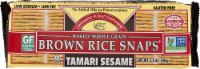 Edward & Sons Tamari Sesame Brown Rice Snaps