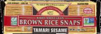 Edward & Sons Tamari Sesame Brown Rice Snaps - 3.5 oz