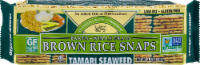 Edward & Sons Tamari Seaweed Brown Rice Snaps
