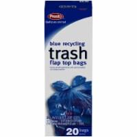 Presto Blue Recycling Flap Top 30 Gallon Trash Bags