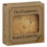 Table Talk Old Fashioned Baked Lemon Pie