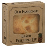 Table Talk Old Fashioned Baked Pineapple Pie
