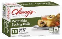 Chung's Vegetable Spring Rolls 18 Count