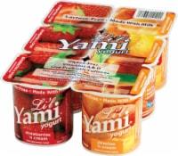 Li'l Yami Strawberries 'n Cream & Peaches 'n Cream Yogurt